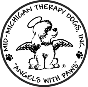 Mid-Michigan Therapy Dogs Mobile Retina Logo